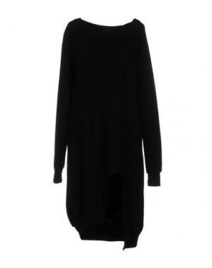 Платье до колена ODI ET AMO. Цвет: черный