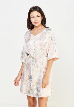 Платье домашнее Mia-Amore. Цвет: розовый