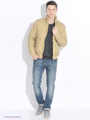 Куртка GEOX. Цвет: золотистый