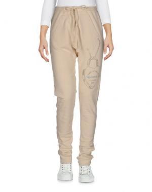 Повседневные брюки HAPPINESS. Цвет: бежевый