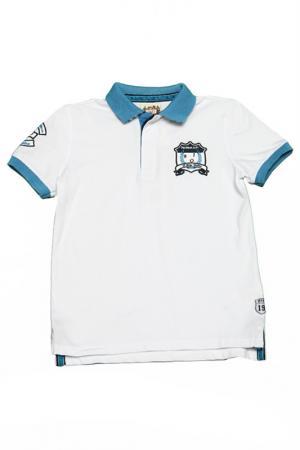 Рубашка-поло il MIO tutto. Цвет: белый
