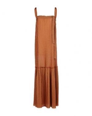 Длинное платье ...À_LA_FOIS.... Цвет: коричневый