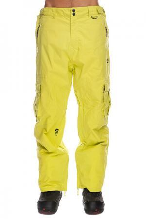 Штаны сноубордические  Master Loose Neon Apo. Цвет: желтый