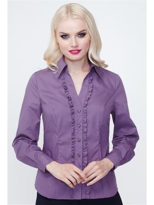 Рубашка VICTORIA VEISBRUT. Цвет: фиолетовый