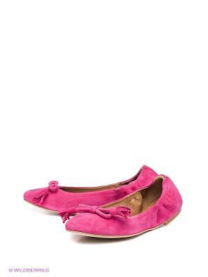 Балетки W2 Shoes&Accessories. Цвет: фуксия