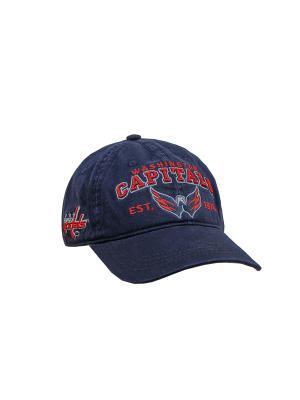 Бейсболка NHL Capitals Atributika & Club. Цвет: синий