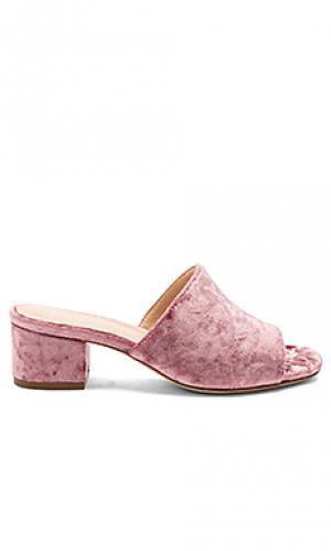 Мюли cara RAYE. Цвет: розовый
