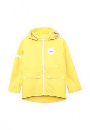 Куртка утепленная Reima. Цвет: желтый