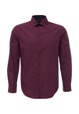 Рубашка Piazza Italia. Цвет: фиолетовый