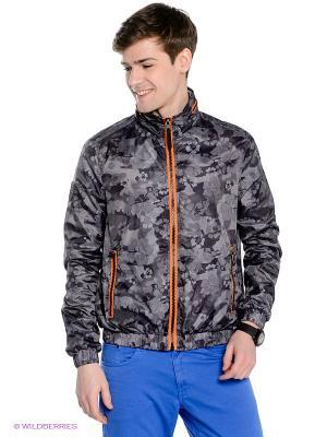 Куртка Fred Mello. Цвет: серый, темно-синий