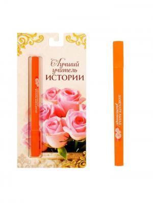 Ручка шариковая Bizon. Цвет: оранжевый