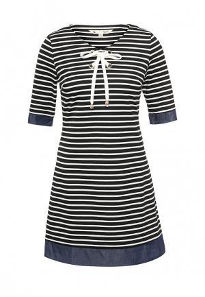 Платье Yumi. Цвет: синий