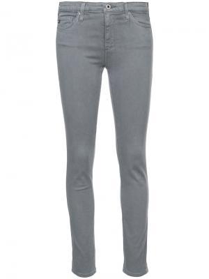 Skinny jeans Ag. Цвет: серый