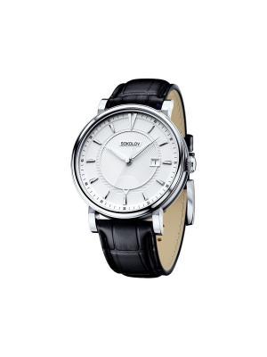 Часы ювелирные коллекция Pulse SOKOLOV 101.30.00.000.06.01.3