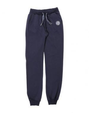 Повседневные брюки NORTH POLE. Цвет: темно-синий