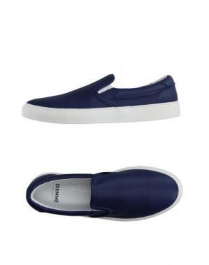 Низкие кеды и кроссовки DIEMME. Цвет: темно-синий