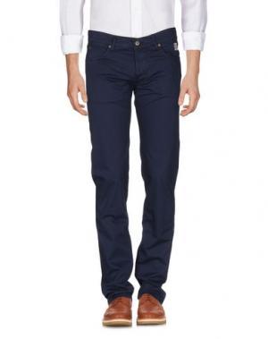 Повседневные брюки ROŸ ROGER'S. Цвет: темно-синий
