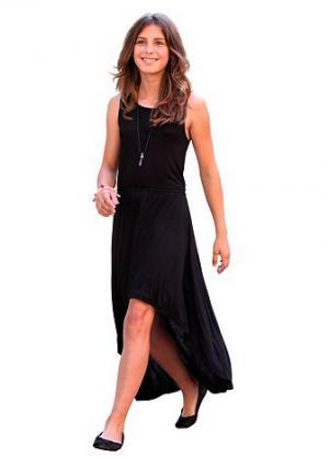 Платье CFL. Цвет: чёрный