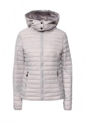 Куртка утепленная Z-Design. Цвет: серый