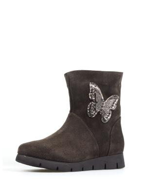 Ботинки TUFFONI. Цвет: темно-серый