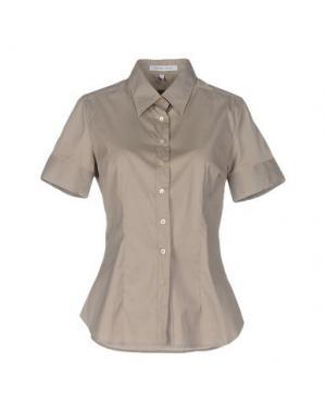 Pубашка WALTER VOULAZ. Цвет: светло-коричневый