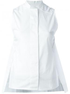 Блузка Joana Reality Studio. Цвет: белый