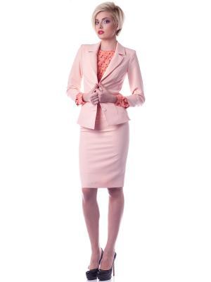 Пиджак OKS by Oksana Demchenko. Цвет: розовый