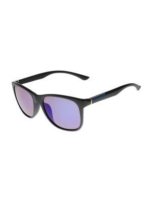 Солнцезащитные очки Olere. Цвет: черный, синий