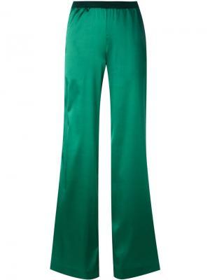 Широкие брюки палаццо Missoni. Цвет: зелёный