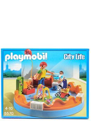 Детский сад Группа детского сада Playmobil. Цвет: голубой