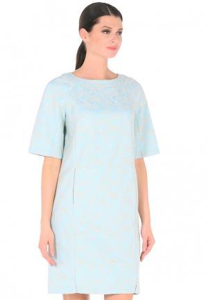 Платье Dlys D'lys. Цвет: голубой