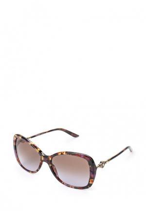 Очки солнцезащитные Versace. Цвет: разноцветный