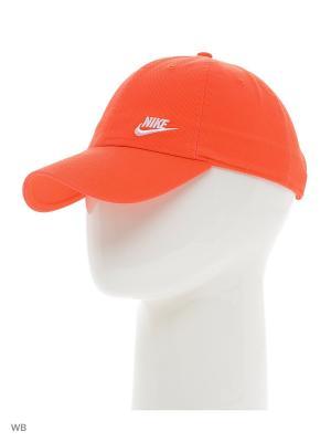 Бейсболка NIKE TWILL H86 - BLUE. Цвет: красный, оранжевый, белый