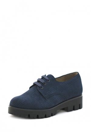 Ботинки Jeleni. Цвет: синий