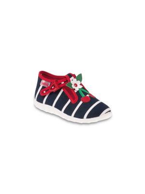 Туфли Befado. Цвет: синий, красный, белый