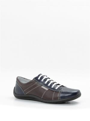 Ботинки BELWEST. Цвет: коричневый, белый, темно-синий