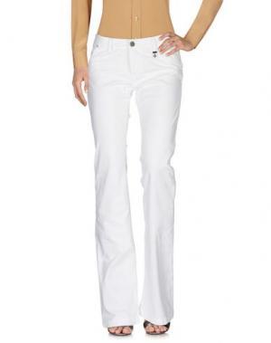 Повседневные брюки ROŸ ROGER'S CHOICE. Цвет: белый