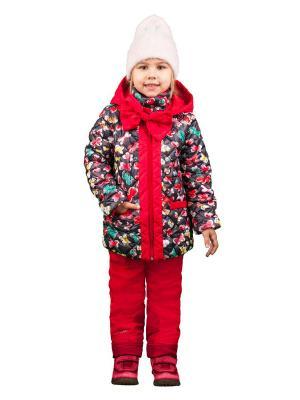 Комплект одежды BOOM. Цвет: бордовый