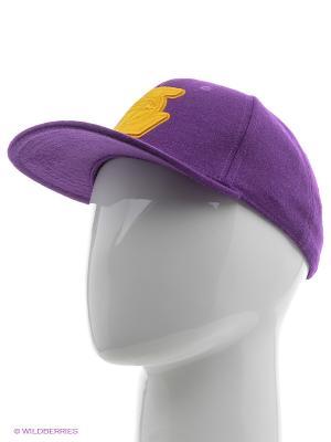 Кепка NBA SBC LAKERS Adidas. Цвет: фиолетовый, желтый