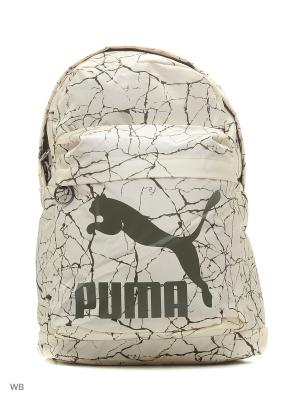 Рюкзак Originals Backpack PUMA. Цвет: светло-бежевый