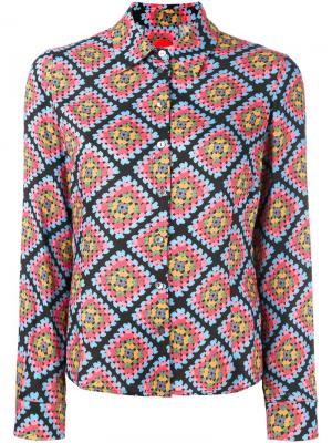 Рубашка Blanket Ultràchic. Цвет: многоцветный
