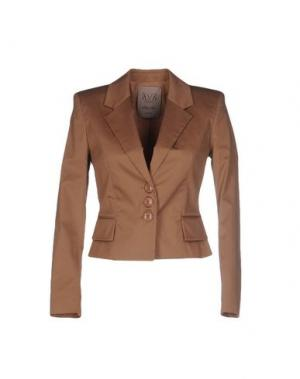 Пиджак BETTY BLUE. Цвет: светло-коричневый