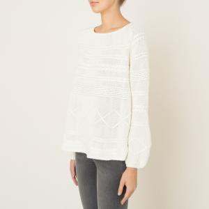 Пуловер MOODY BA&SH. Цвет: экрю