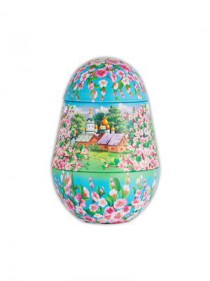 Чай Hilltop Подарок Цейлона 80г., яйцо Яблони в цвету. Цвет: черный