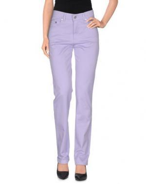 Повседневные брюки ROCCOBAROCCO. Цвет: сиреневый