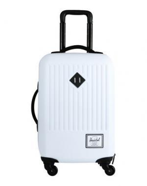 Чемодан/сумка на колесиках THE HERSCHEL SUPPLY CO. BRAND. Цвет: белый