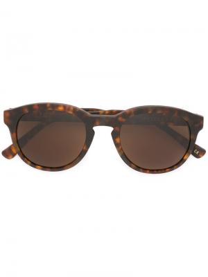 Солнцезащитные очки Anteka 2.0 Epøkhe. Цвет: коричневый