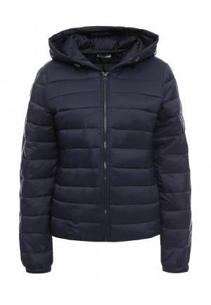 Куртка утепленная Jacqueline de Yong. Цвет: синий