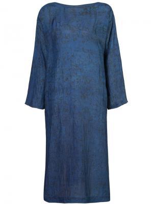 Платье-туника Tunisian Dosa. Цвет: синий