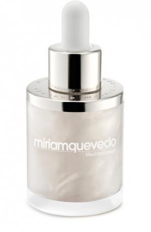Увлажняющее масло для волос с экстрактом белой икры Miriamquevedo. Цвет: бесцветный